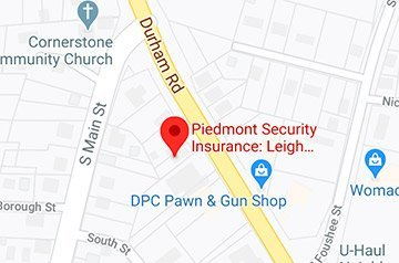 Piedmont Security Insurance Agency Google Maps Listing
